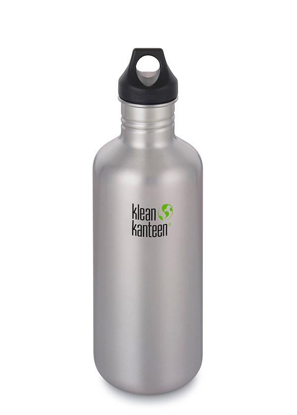 Klean Kanteen Classic Παγούρι Loop Cap 1182ml - Brushed Stainless